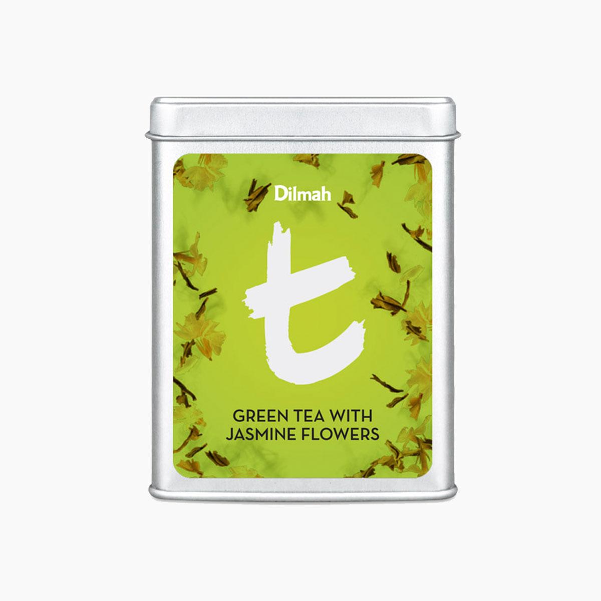 GREEN TEA WITH JASMINE FLOWERS 100g